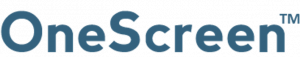 one screen logo